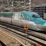 Bullet train from Tokyo to Hokkaido